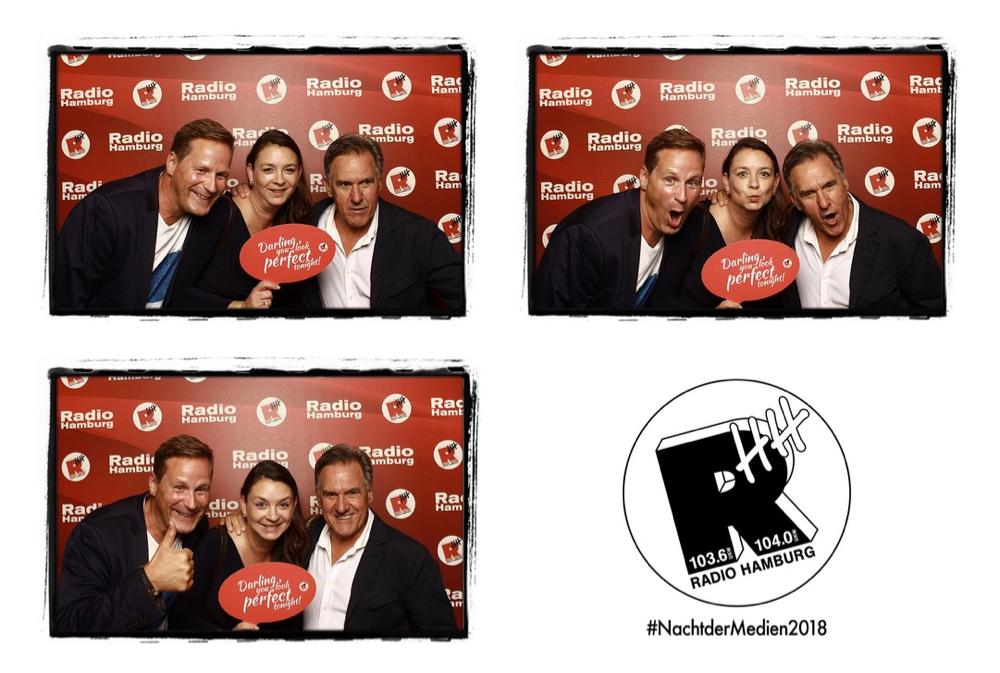 Nacht Der Medien 2018 Radio Hamburg Fotobox